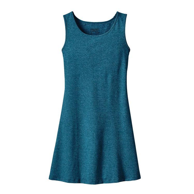 ウィメンズ・スリーブレス・シーブルック・ドレス, Big Sur Blue (BSRB)