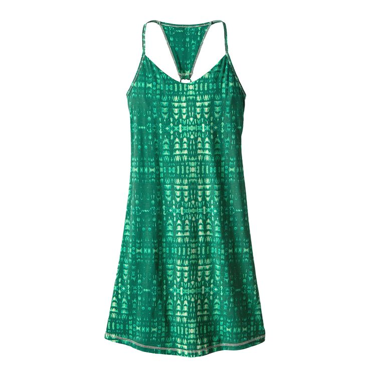 W'S EDISTO DRESS, Tidewater: Gem Green (TDWG)