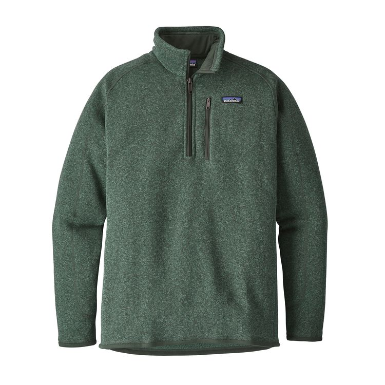 M'S BETTER SWEATER 1/4 ZIP, Pesto (PST)