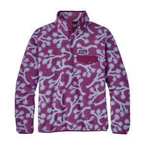 ウィメンズ・ライトウェイト・シンチラ・スナップT・プルオーバー, Joshua Trees: Geode Purple (JOGE)