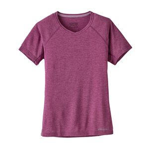 W's Short-Sleeved Nine Trails Shirt, Magenta (MAG)