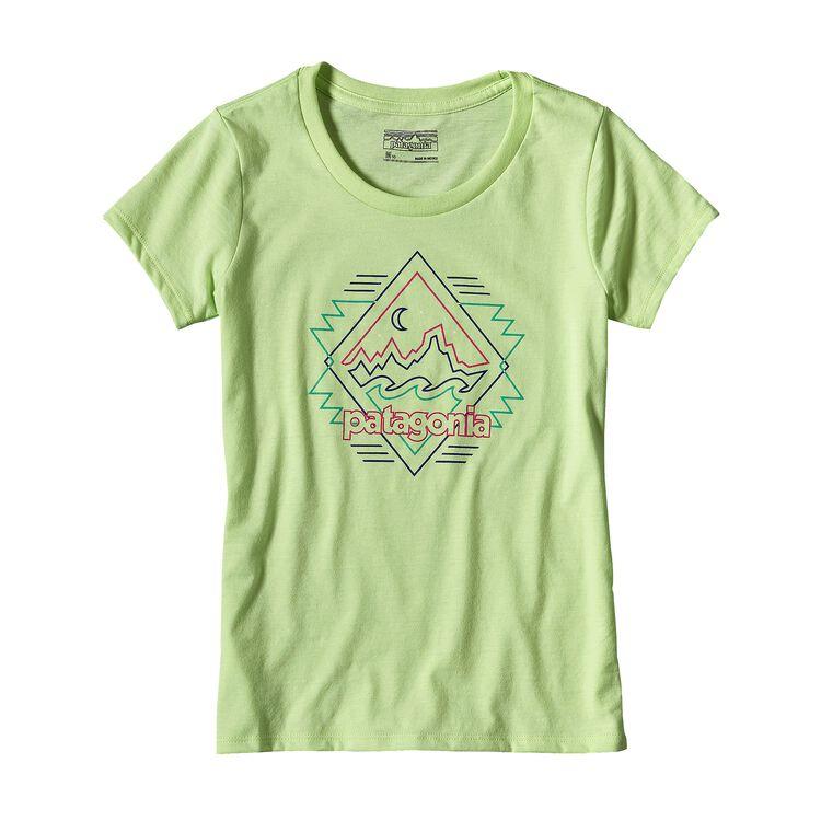 ガールズ・フィッツロイ・ブギー・コットン/ポリ・Tシャツ, Gill Green (GLGN)