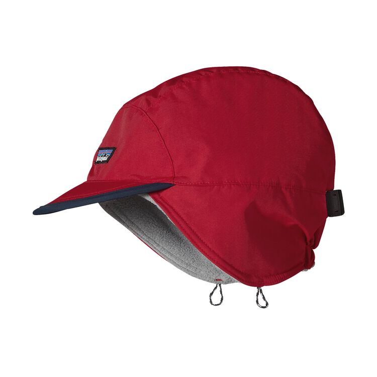 SHELLED SYNCH DUCKBILL CAP, Classic Red (CSRD)