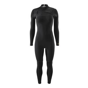 W's R3™ Yulex™ Front-Zip Full Suit, Black (BLK)