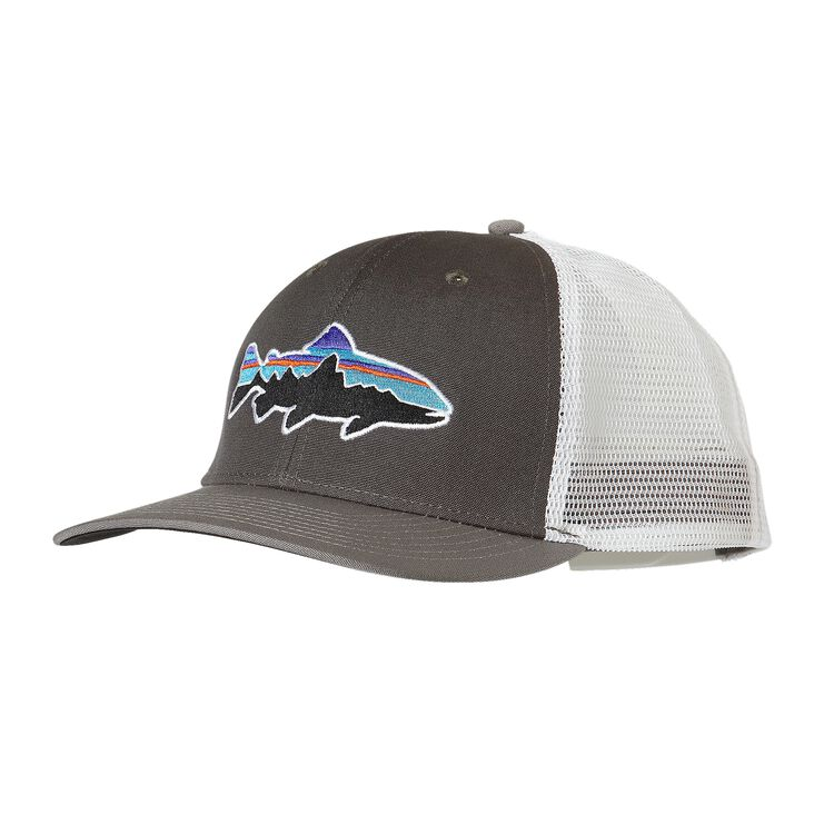 FITZ ROY TROUT TRUCKER HAT, Forge Grey w/Feather Grey (FYF)