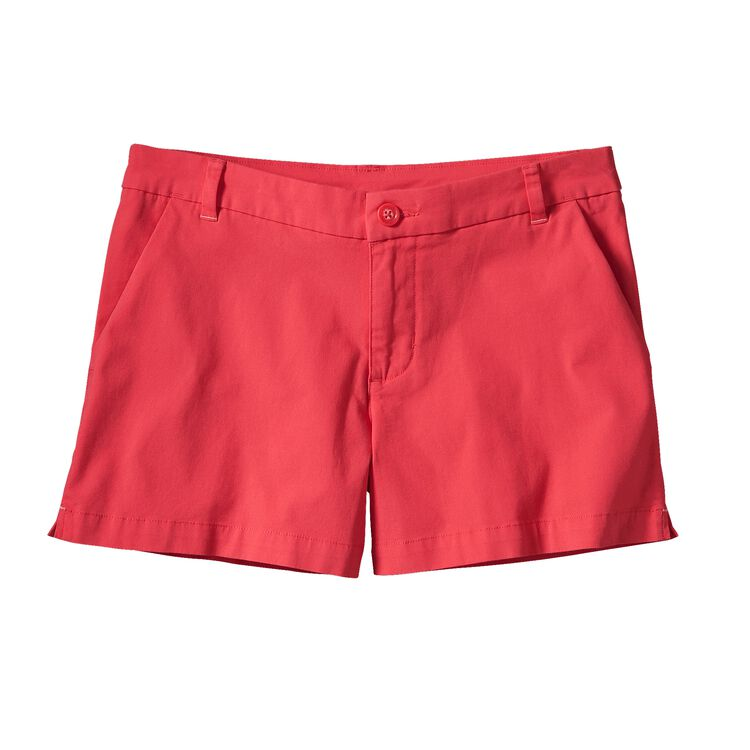 W'S STRETCH ALL-WEAR SHORTS - 4 IN., Shock Pink (SHKP)
