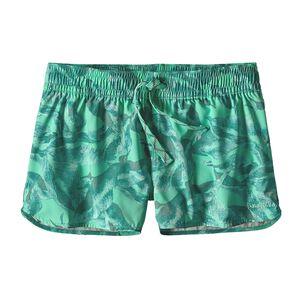 ウィメンズ・ストレッチ・プレーニング・マイクロ・ショーツ(5cm), Monsoon Kelp: Galah Green (MNKG)