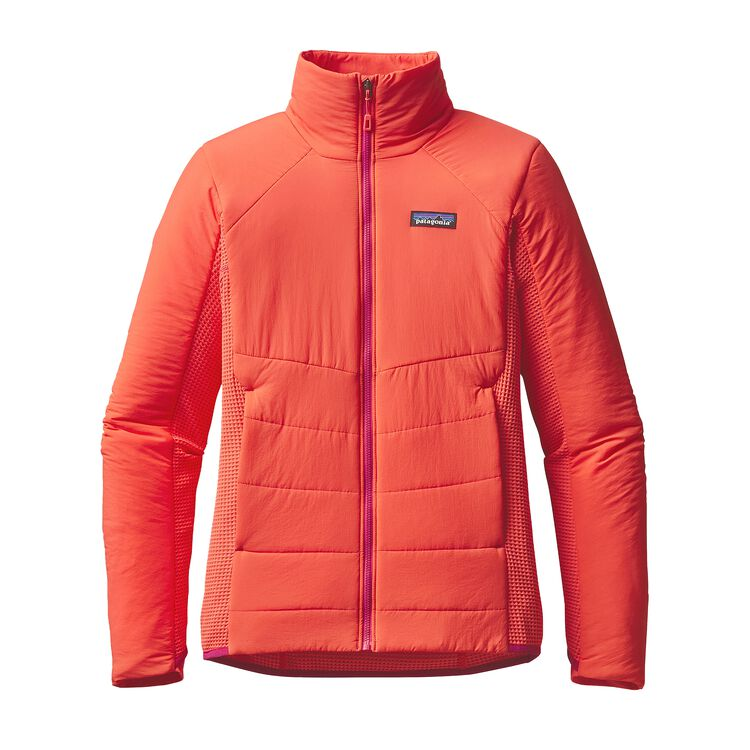 W'S NANO-AIR LIGHT HYBRID JKT, Carve Coral (CRVC)