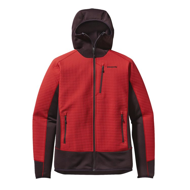 M'S DUAL ASPECT HOODY, French Red (FRR)
