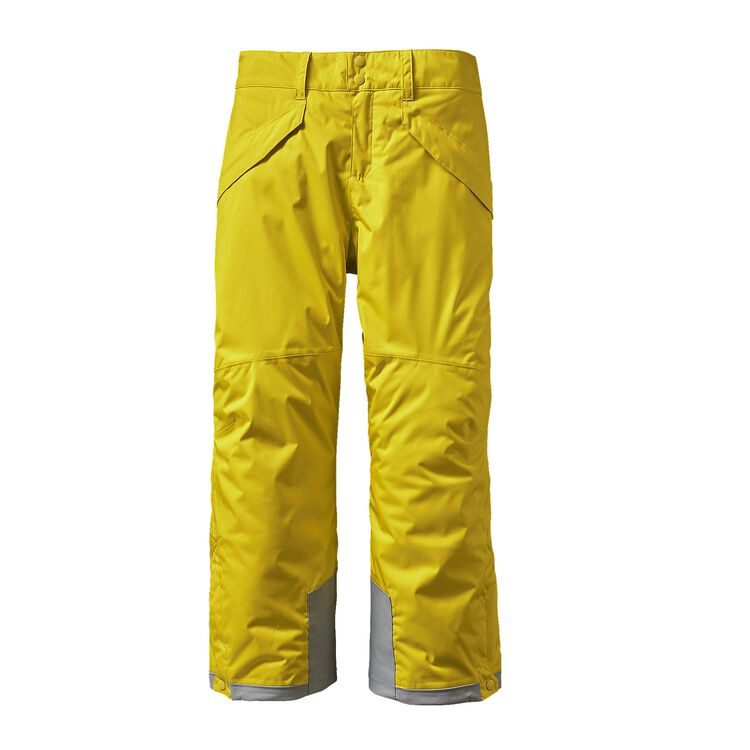 BOYS' INSULATED SNOWSHOT PANTS, Yosemite Yellow (YSMY)