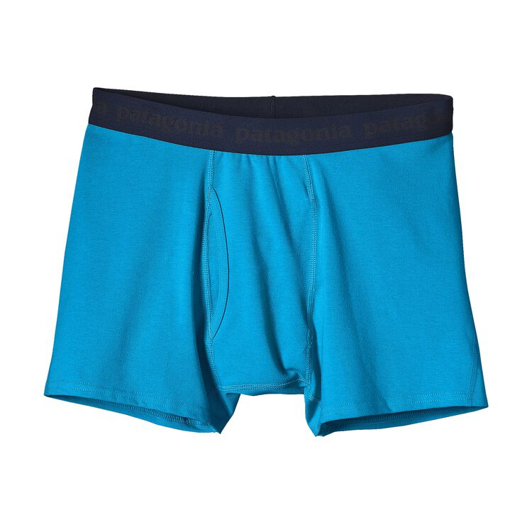 M'S EVERYDAY BOXER BRIEFS, Grecian Blue (GCB)