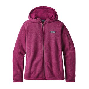 W's Better Sweater™ Full-Zip Hoody, Magenta (MAG)