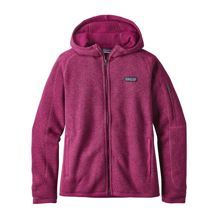 W'S BETTER SWEATER HOODY, Magenta (MAG)