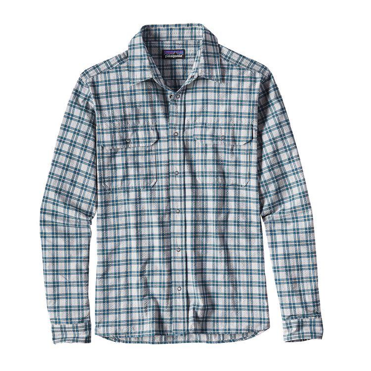メンズ・ロングスリーブ・エル・レイ・シャツ, Updrift: Tailored Grey (UPTG)