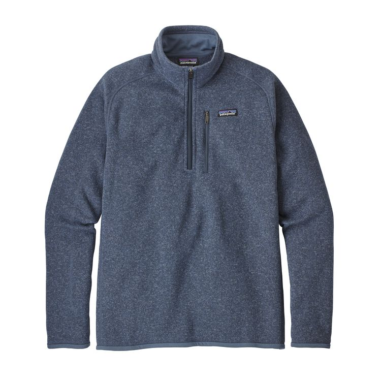 M'S BETTER SWEATER 1/4 ZIP, Dolomite Blue (DLMB)