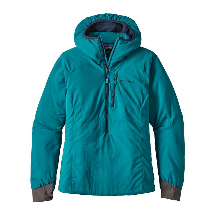 W'S NANO-AIR LIGHT HOODY, Elwha Blue (ELWB)