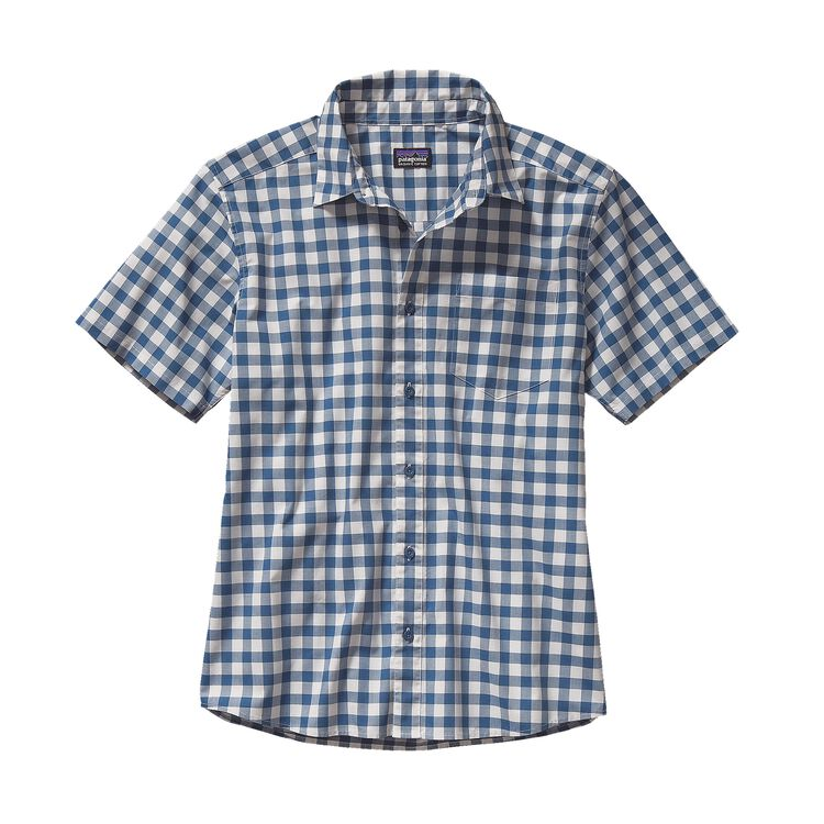 M'S FEZZMAN SHIRT, Hilltown: Glass Blue (HTGB)