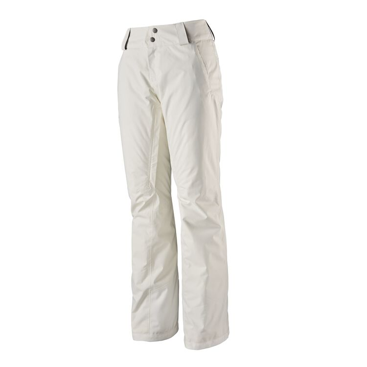 W'S INSULATED SNOWBELLE PANTS - REG, Birch White (BCW)