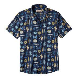 M's Malihini Pataloha™ Shirt, Tasty: Navy Blue (TANB)