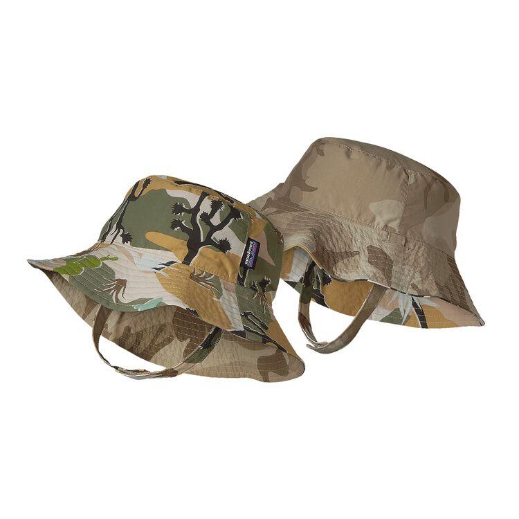 BABY SUN BUCKET HAT, Desert Camo: Spanish Moss (DSSM)