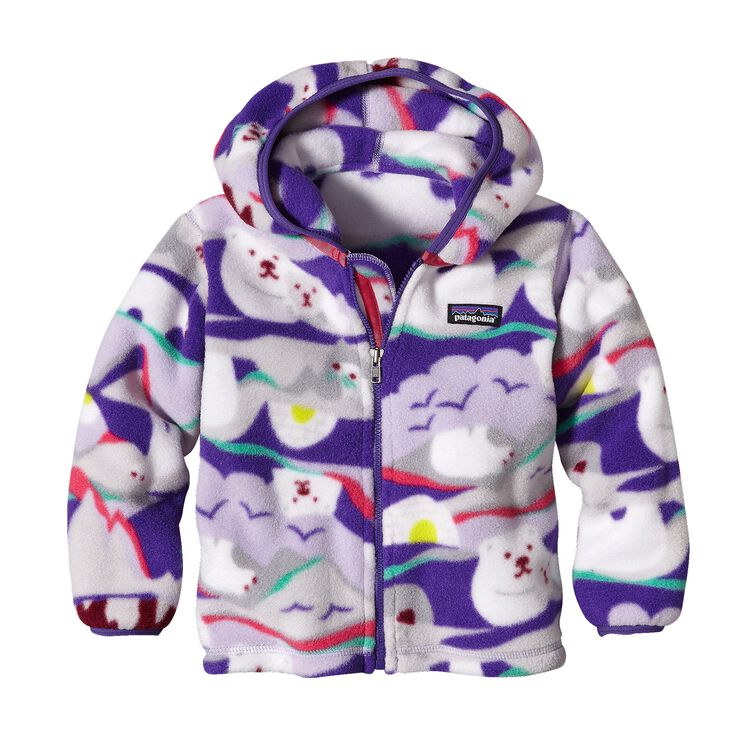 BABY SYNCH CARDIGAN, Polar Play: Tundra Purple (PTNP)