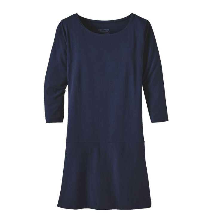 W'S KAMALA 3/4 SLEEVE DRESS, Navy Blue (NVYB)