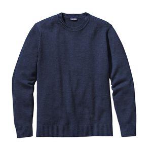 メンズ・メリノ・クルーネック・セーター, Classic Navy (CNY)