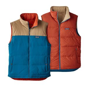M's Reversible Bivy Down Vest, Big Sur Blue (BSRB)