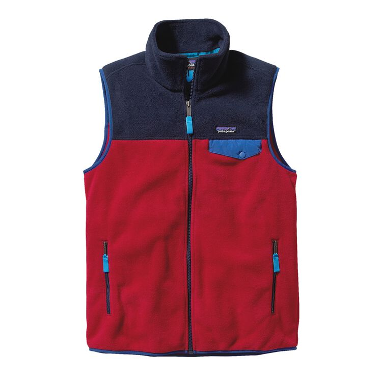 M'S LW SYNCH SNAP-T VEST, Raspen Red (RASR)