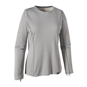 ウィメンズ・キャプリーン・ミッドウェイト・クルー, Feather Grey - Tailored Grey X-Dye (FTGX)