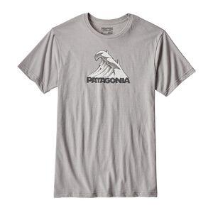 メンズ・スノー・サーフ・コットン/ポリ・Tシャツ, Drifter Grey (DFTG)