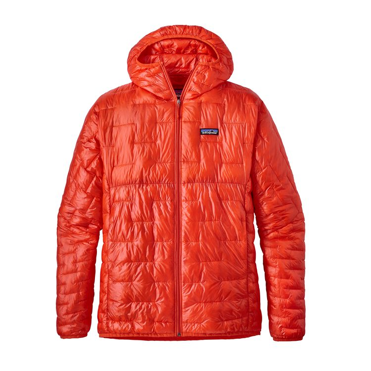 M'S MICRO PUFF HOODY, Paintbrush Red (PBH)