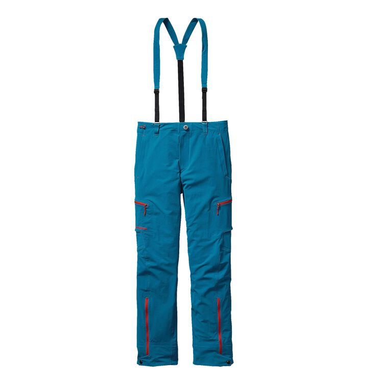 M'S DUAL POINT ALPINE PANTS, Underwater Blue (UWTB)