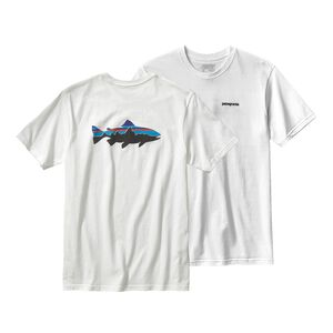 M'S FITZ ROY TROUT COTTON T-SHIRT, White (WHI)