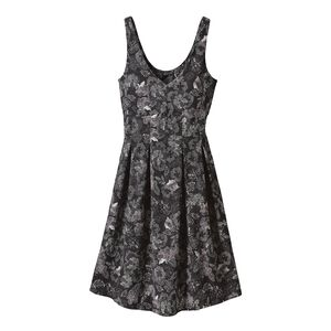 W's Laurel Ridge Dress, Dropdot: Ink Black (DPIB)