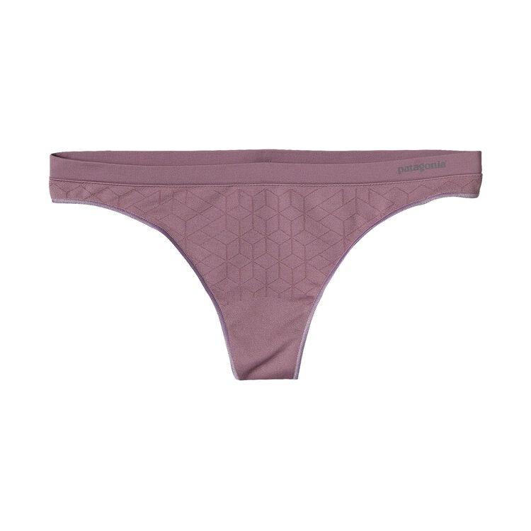 W'S BARELY THONG, Geo Diamond: Tyrian Purple (GTPL)