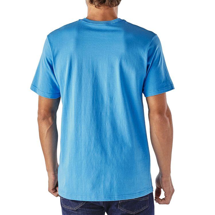 メンズ・フィッシュ・モンキー・コットン・Tシャツ,