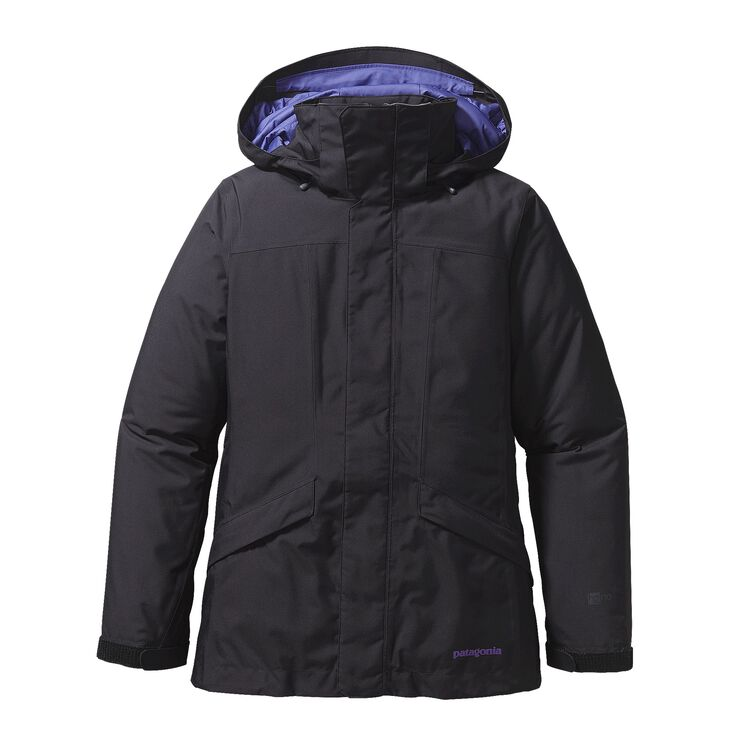 W'S INSULATED SNOWBELLE JKT, Black w/Concord Purple (BCNP)