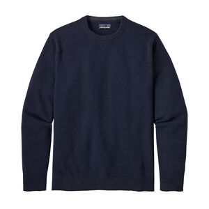 M's Recycled Cashmere Crewneck Sweater, Navy Blue (NVYB)