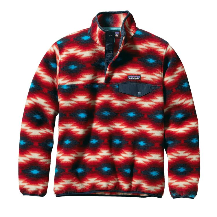 W'S LW SYNCH SNAP-T P/O, Wild Desert: Classic Red (WDCR)