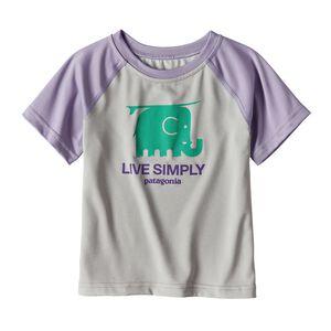ベビー・キャプリーン・シルクウェイト・Tシャツ, Tailored Grey (TGY)