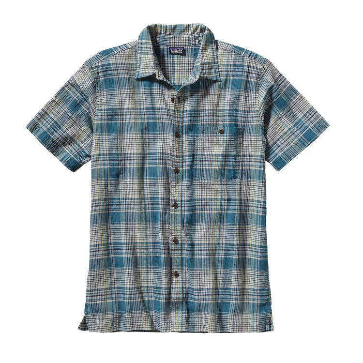 メンズ・A/Cシャツ, Santa Ana: Tobago Blue (SNTB-715)