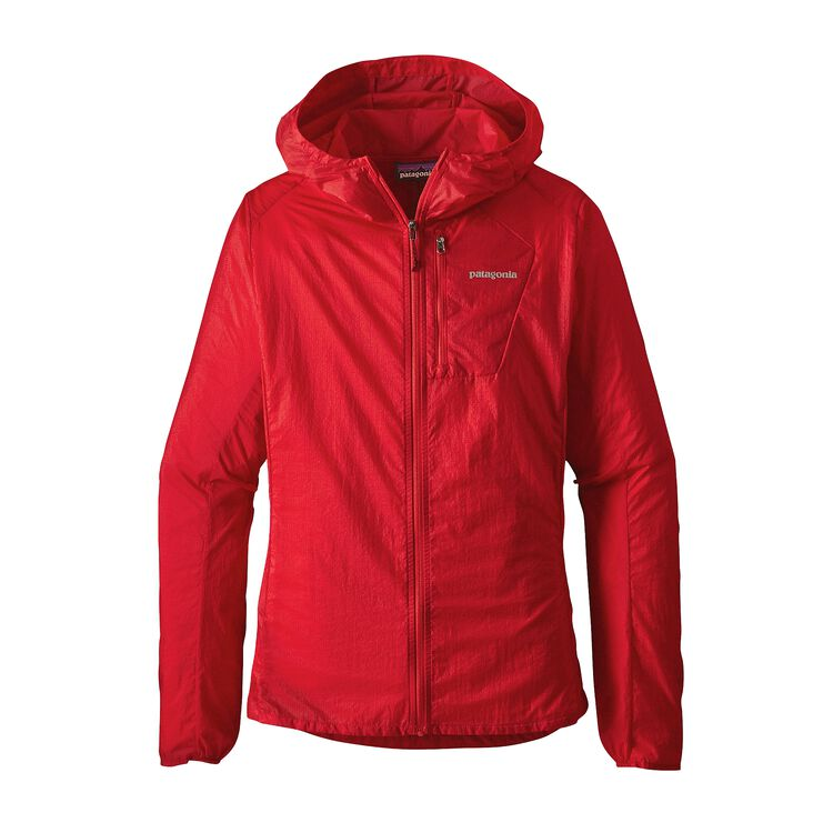 W'S HOUDINI JKT, French Red (FRR)