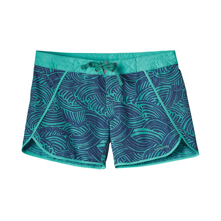 W'S WAVEFARER BOARD SHORTS, Water Maker: Howling Turquoise (WHTQ)