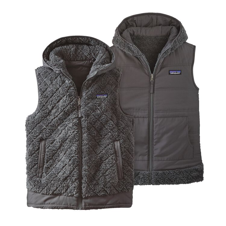 W'S LOS GATOS HOODED VEST, Forge Grey (FGE)