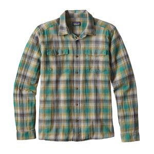 M's Long-Sleeved Steersman Shirt, Costa: True Teal (CSTT)