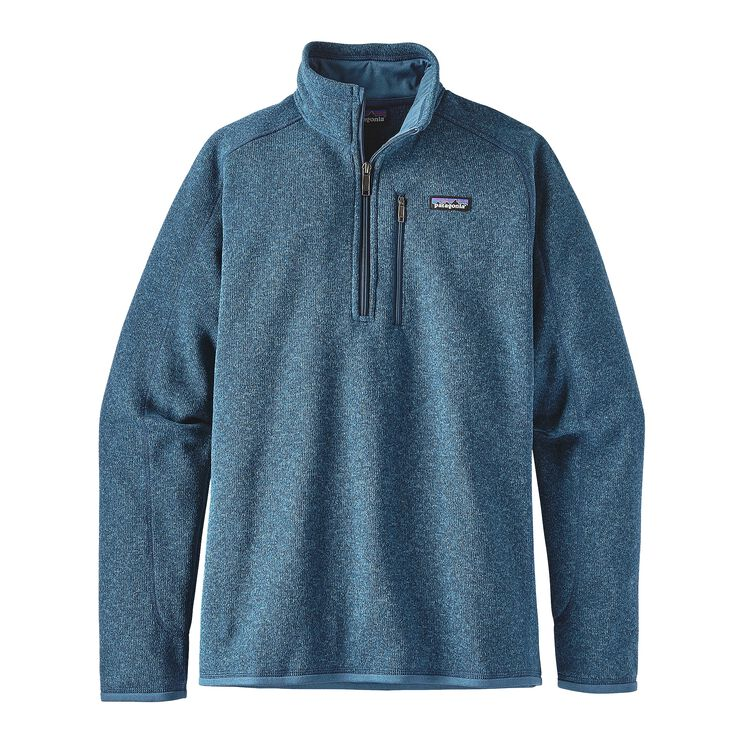 M'S BETTER SWEATER 1/4 ZIP, Big Sur Blue (BSRB)