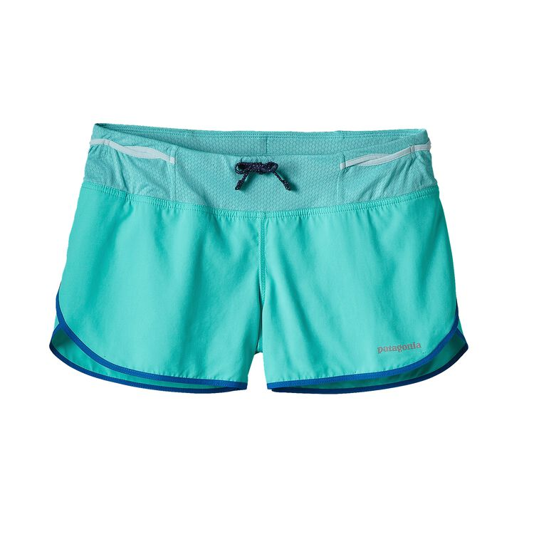 W'S STRIDER PRO SHORTS - 3 IN., Howling Turquoise (HWLT)