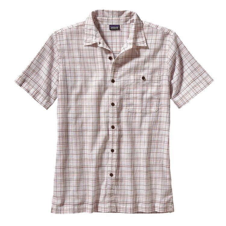 メンズ・A/Cシャツ, Murietta: White (MUWH-700)