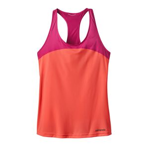 W's Windchaser Sleeveless Tank Top, Carve Coral (CRVC)